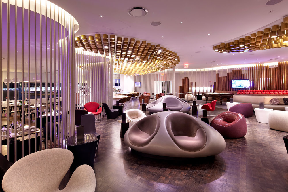 The Virgin Atlantic Clubhouse at JFK Airport in New York. (Photo: Courtesy Virgin Atlantic)