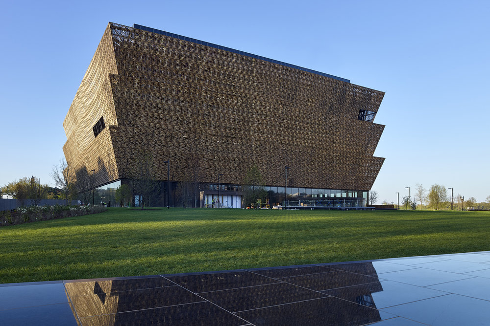David Adjaye led the team that designed the National Museum of African American History and Culture in Washington, D.C. Philip Freelon is the lead architect for the project. (Photo: Courtesy NMAAHC)