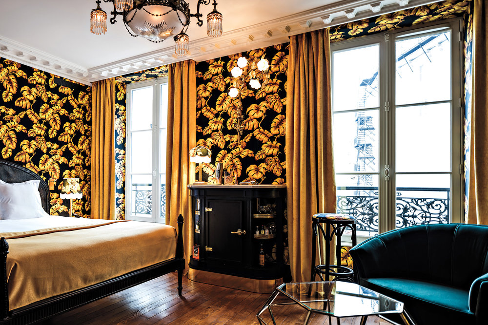 A suite at  Hôtel Providence. (Photo: Benoit Linero/Courtesy Hôtel Providence)