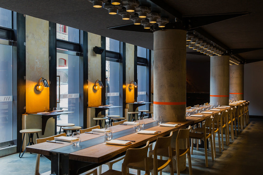 The dining room at Automata. (Photo: Courtesy Automata)