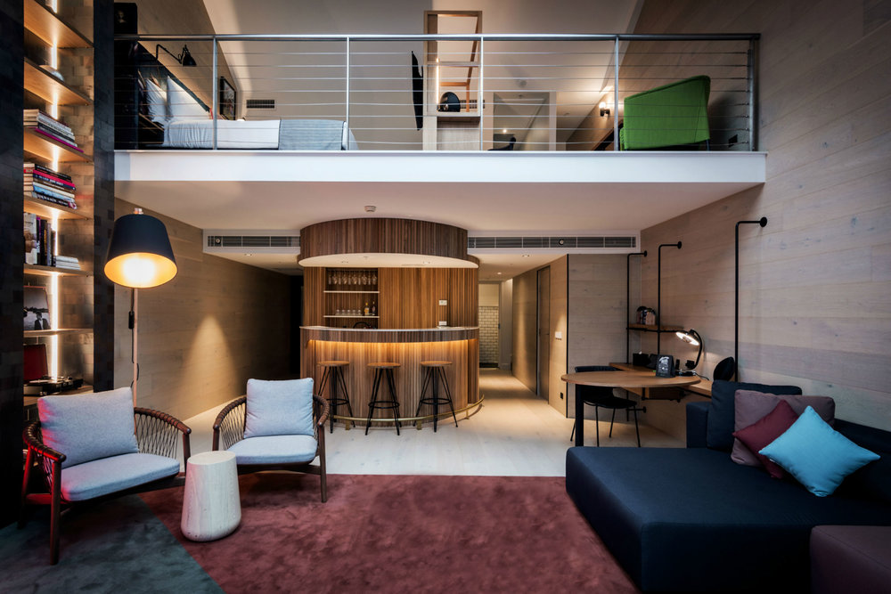 The Ultraroo suite at Ovolo Woolloomooloo. (Photo: Courtesy Ovolo Woolloomooloo)