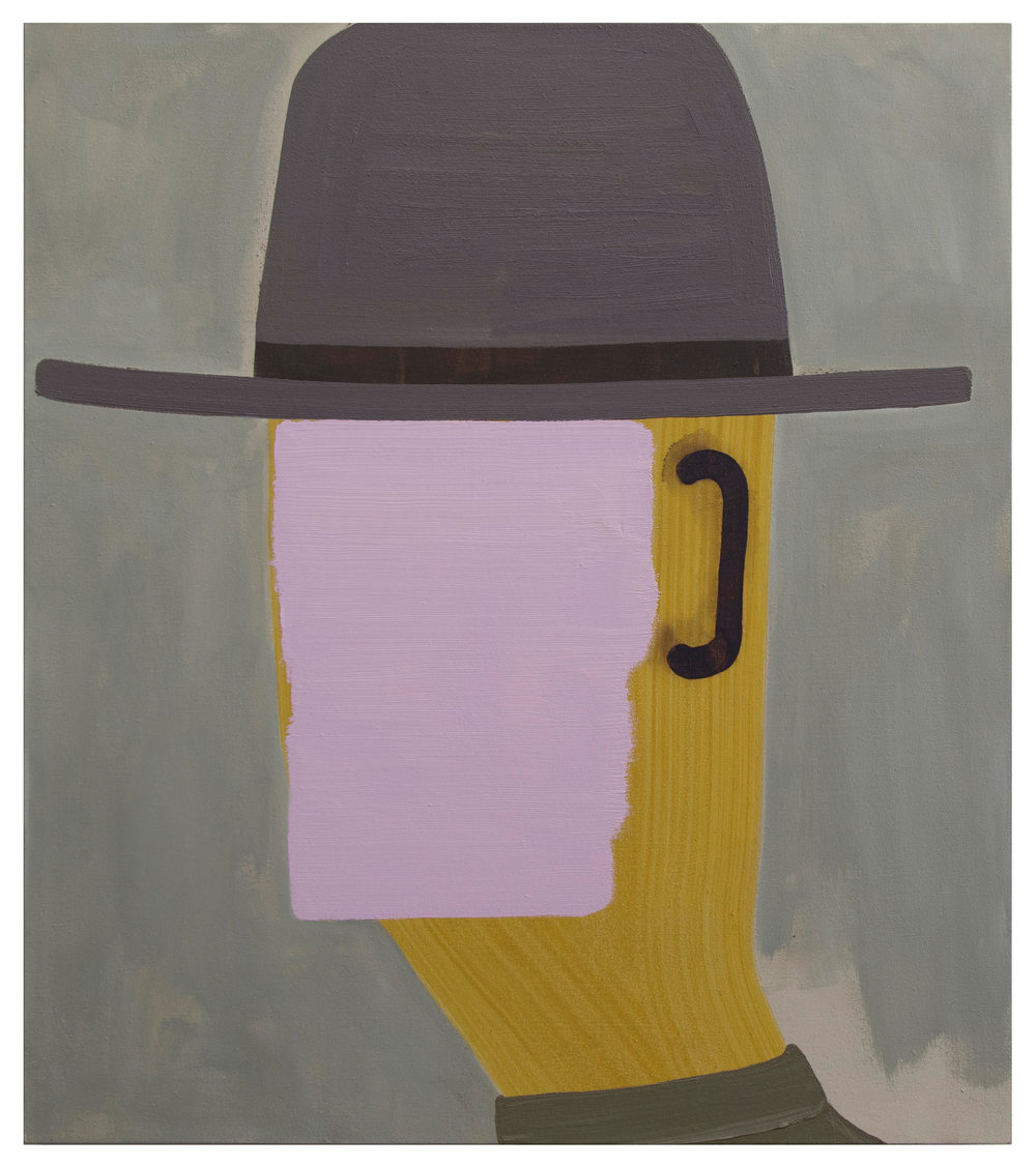 """Hat"" (2012) by John Millei. (Photo: Courtesy John Millei)"