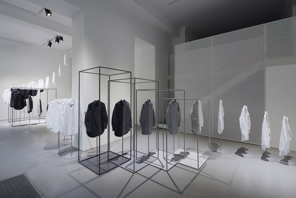 Scenes from the Nendo installation in Milan. (Photo: Courtesy COS)