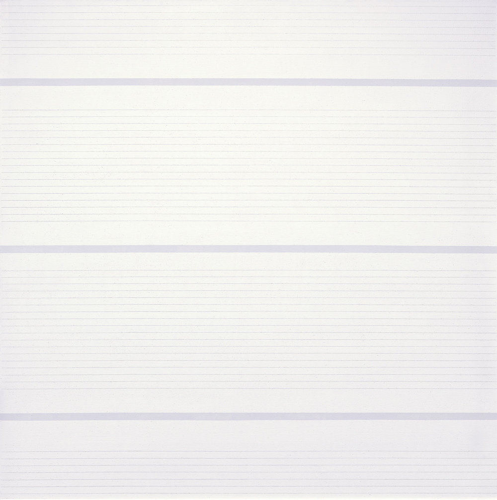 "Agnes Martin's ""Untitled #15"" (1988) (Photo: ©2015 Agnes Martin/Artists Rights Society (ARS), New York)"