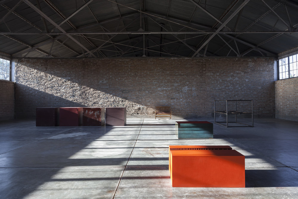 A studio space at La Mansana de Chinati in Marfa. (Photo: Elizabeth Felicella/© Judd Foundation)