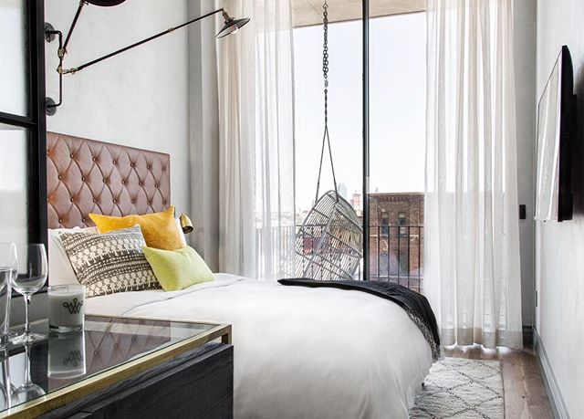 Rooms with a view and furnishings by @michaelisboyd at the new Williamsburg Hotel. What are some of your favorite #staycation spots?