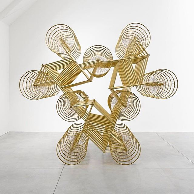 "Today is the last day of @zonamaco. The fair's founder, Zélika Garcia, tells us about #MexicoCity's rising art scene and shares her insider's guide to the city. Read more on surfacemag.com. Pictured above: #AiWeiWei, ""Forever,"" on view at Lisson Gallery's #ZonaMaco booth."