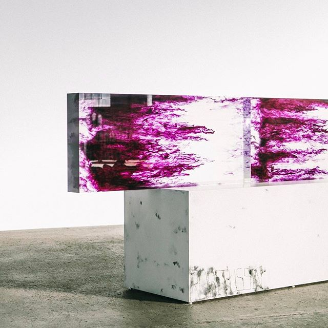 #SterlingRuby gives us a tour of his studio in Vernon, California, and a preview of some of the works that will be featured in his upcoming exhibition at @gagosiangallery. Follow the link in our bio to read the feature. (📷: @glaskewii)  #surfacemag