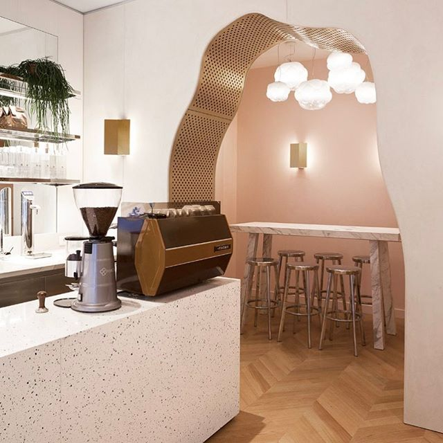 Designed by #MathieuLehanneur, Noglu is the stylish new cafe for Parisians cultivating a gluten-free lifestyle. Read more on our website. #surfacemag #noglu #nogluparis