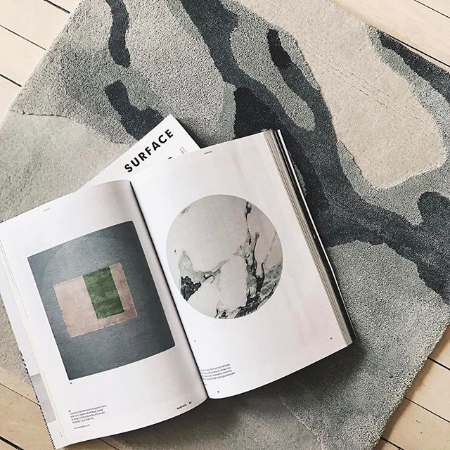 """An homage to the purity of natural materials""  #IncorporatedNY's Terra rug, featured in our March issue. Order yourself a copy through the link in our bio. (📷: @inc.nyc)  #surfacemag"