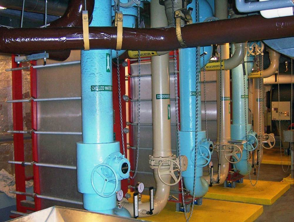 Chilled water, Free Cooling Exchangers