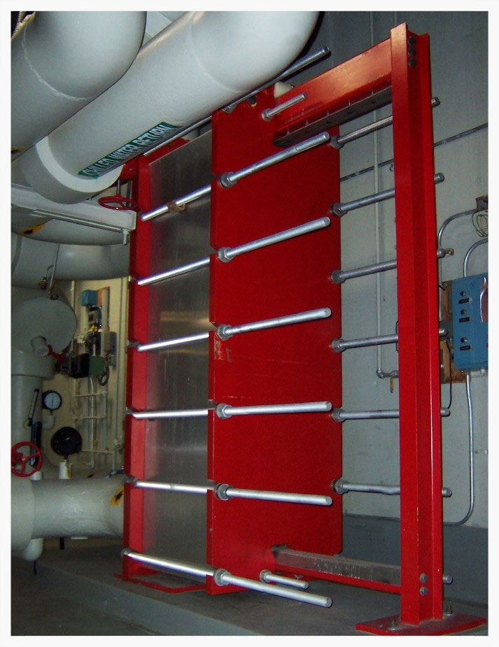 Commercial HVAC Plate and Frame Heat Exchanger