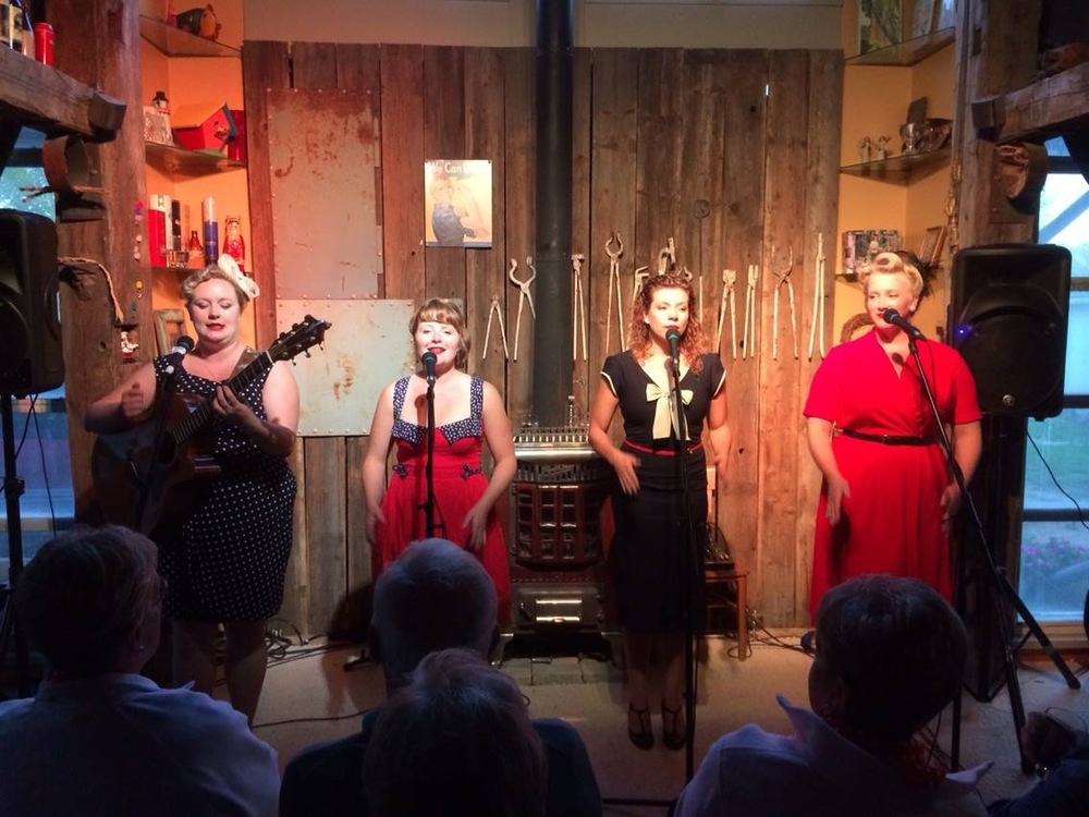 Rosie and the Riveters performing at La Grange Laurier on August 31st.