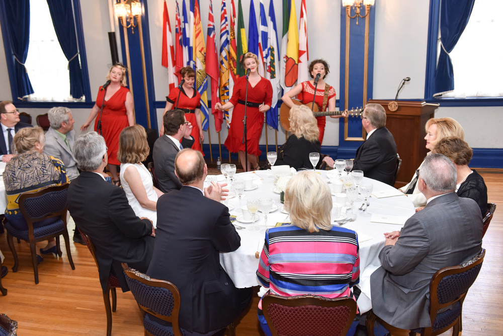 Performing for the Lieutenant Governor, Prince Andrew & Princess Sophie!