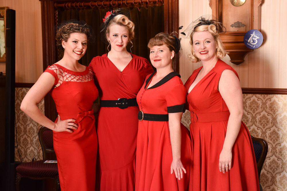 Dresses to impress in Royal Red!