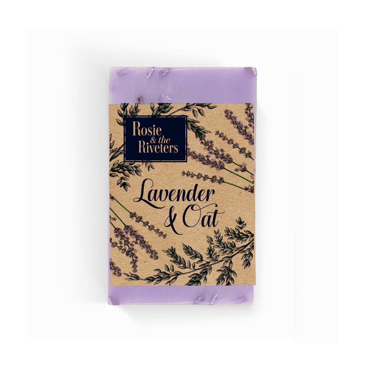 Fan Favourite Lavender Oat Hemp Soap Rosie The Riveters
