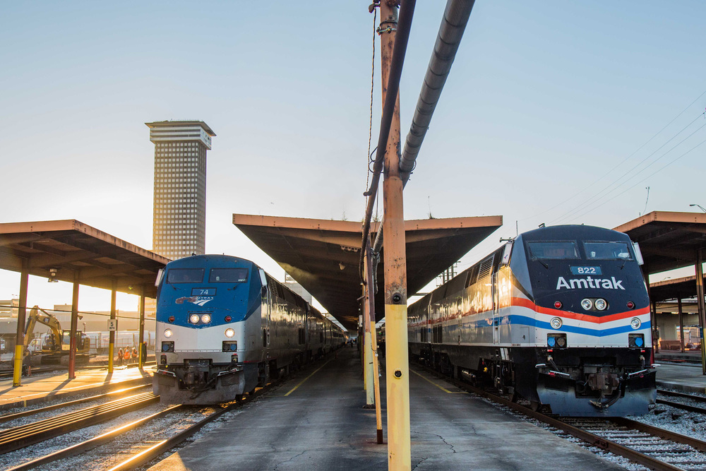 New Orleans Amtrak station |   Photo credit  Marc Glucksman/Amtrak