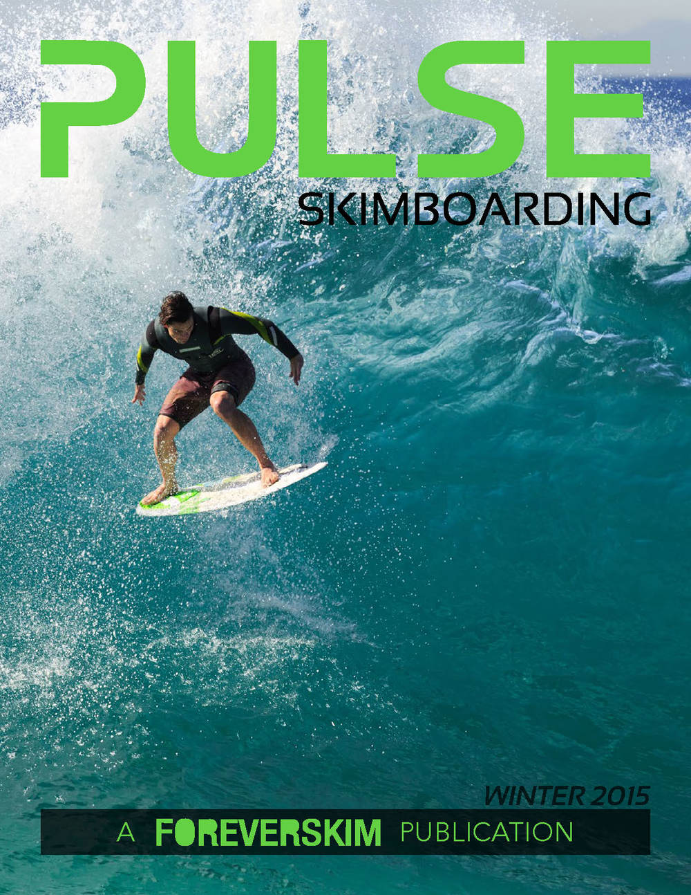 Pulse Skimboarding Magazine Issue Winter 2015