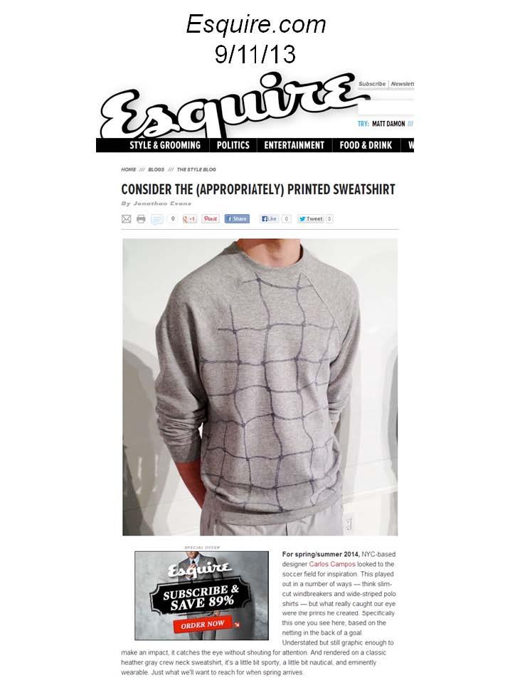 Esquire 9/11/2013