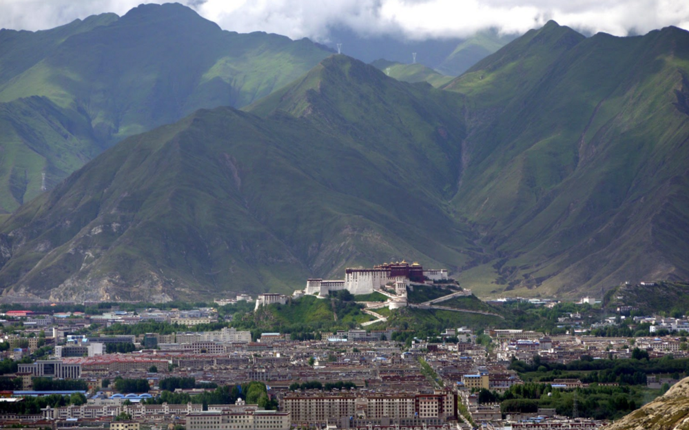 Figure 1. Lhasa from the Pabonka Monastery. 2011. N.p