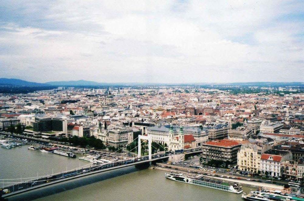 The view from Gellért Hill.