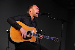 "Also in Soho, British singer-songwriter David Gray captivated fans for 45 minutes with a solo-acoustic set showcasing songs from his new album ""Foundling."""