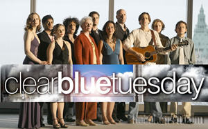 """Clear Blue Tuesday"" is a pop musical about living in New York City post-9/11 and is receiving rave reviews.  The albums' soundtrack out on Sh-K-Boom Records was mastered here at Dubway Studios by Engineer/Owner Mike Crehore."