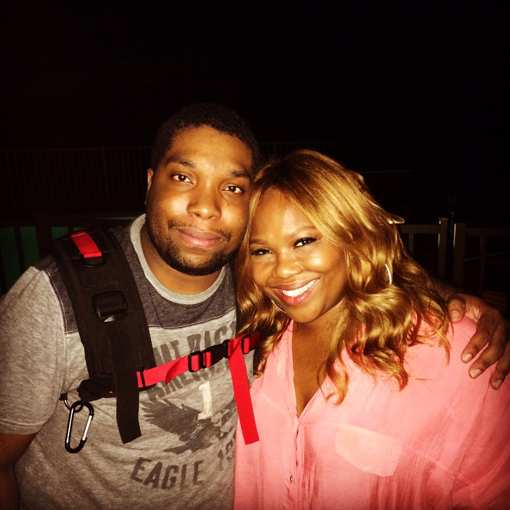 Rashid Ramkissoon and Mona Scott-Young