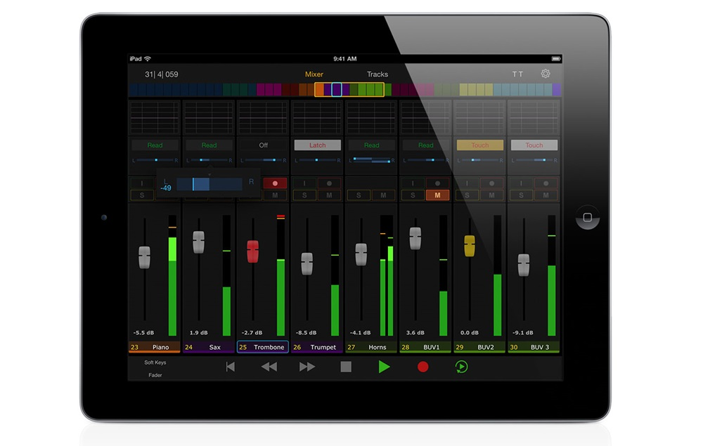 Avid's Pro Tools | Control for iPad.