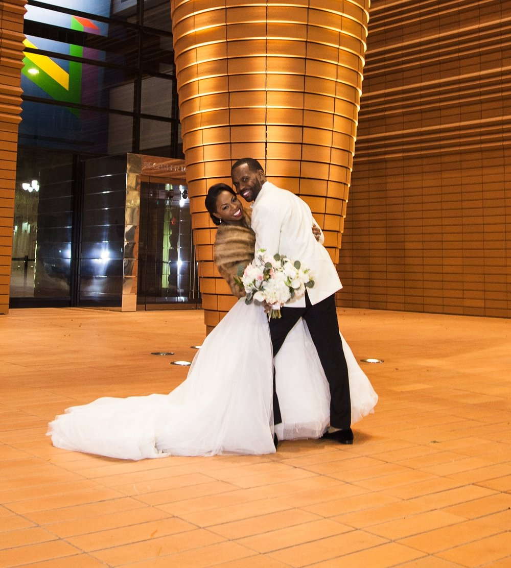 There are no limits to what this humble couple will conquer in life! Take a look into this DC couples' engagement and wedding day! Meet the Moses!
