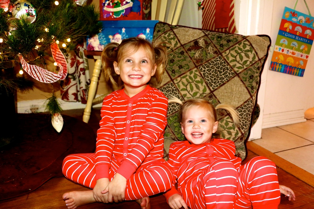 Matching Christmas PJs IN!