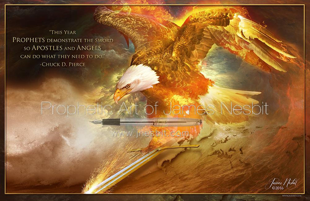 Prophetic Fire Products Prophetic Art Of James Nesbit