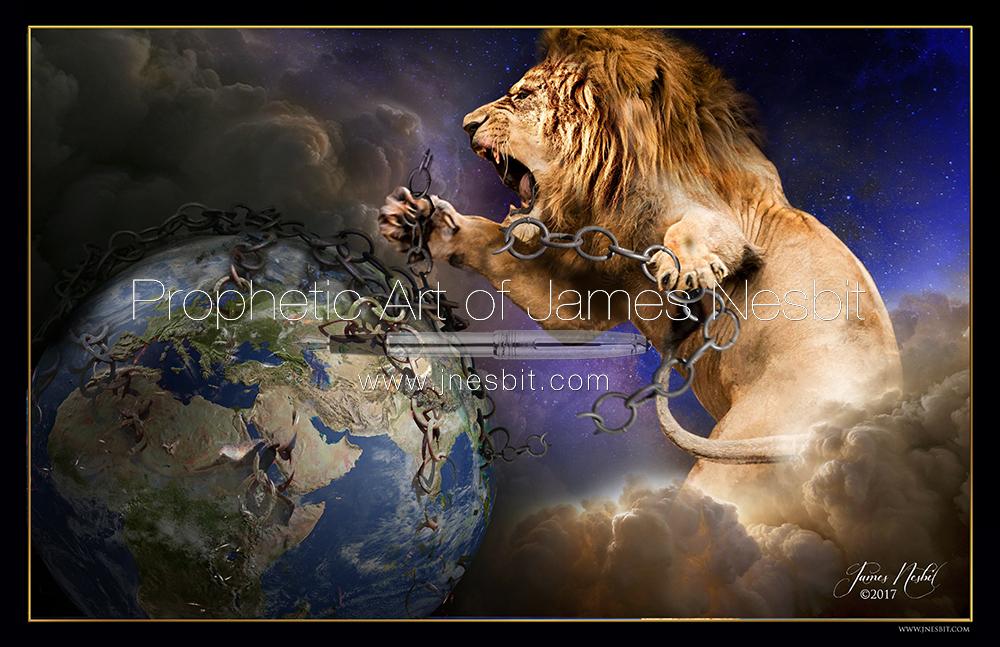 Breaks Every Chain Products Prophetic Art Of James Nesbit