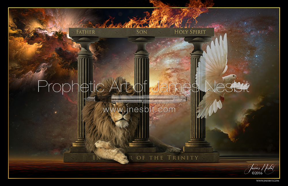 In Honor Of The Trinity Products Prophetic Art Of