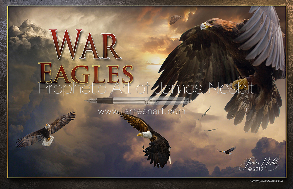 War Eagles — Products – Prophetic Art of James Nesbit