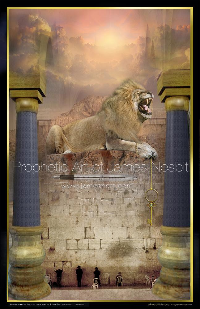 Lion Collection Prophetic Art Of James Nesbit
