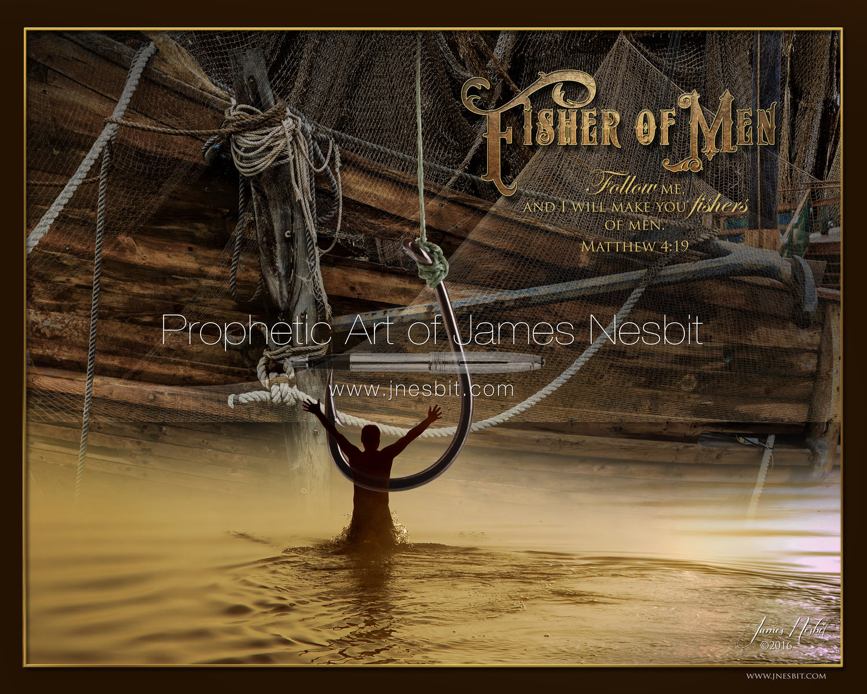 Fisher of Men — Products 3 – Prophetic Art  of James Nesbit