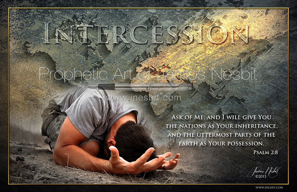 Image result for prophetic art intercessors