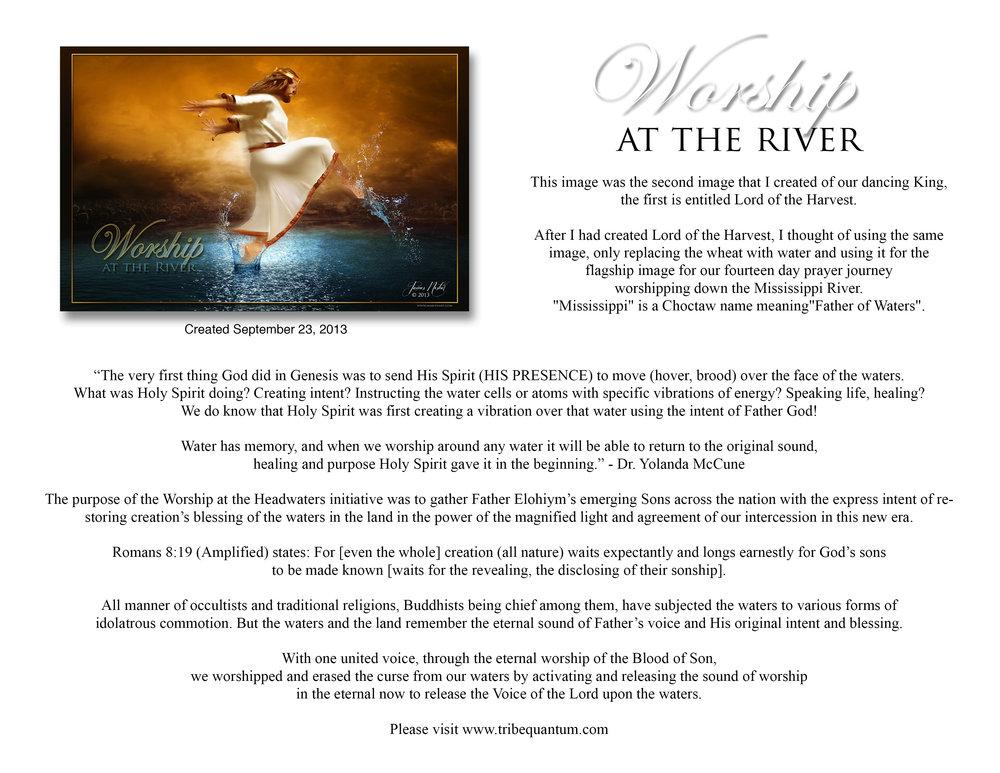 Worship at the River Description.jpg