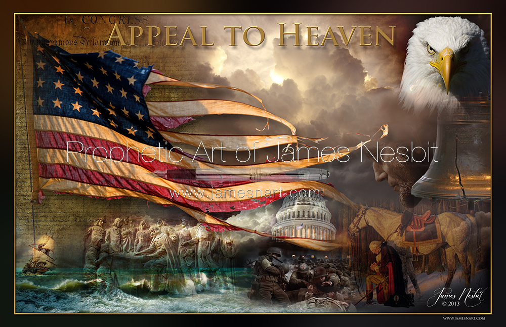 Appeal to Heaven — Products 2 – Prophetic  Art of James Nesbit