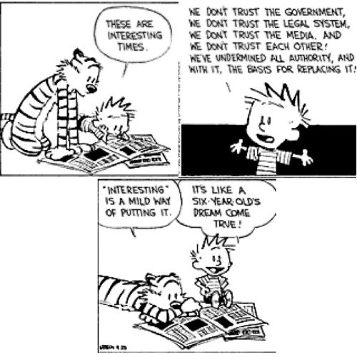 Calvin and Hobbes ©Bill Watterson