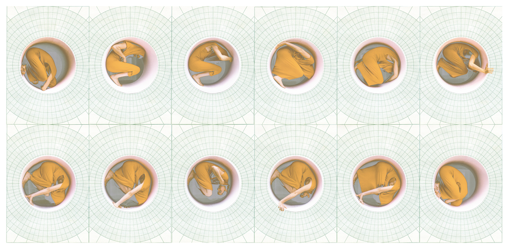 polar coordinates #5 (study), digital montage, dimensions variable, 2016