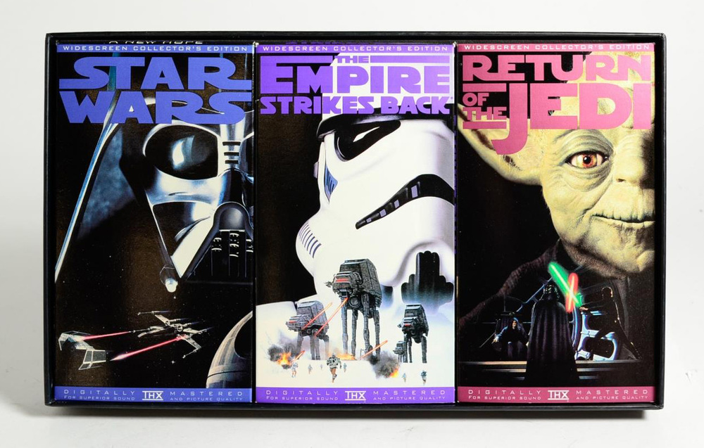 """The original Star Wars Trilogy on video… one last time"""