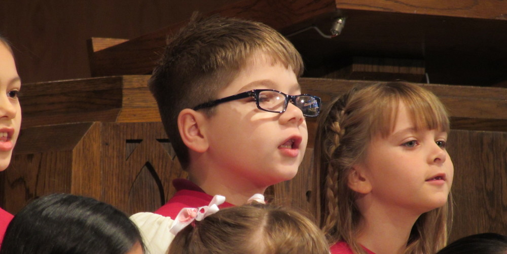 We have a wide variety of opportunities for children to grow in their faith, including Children's Choir programming.