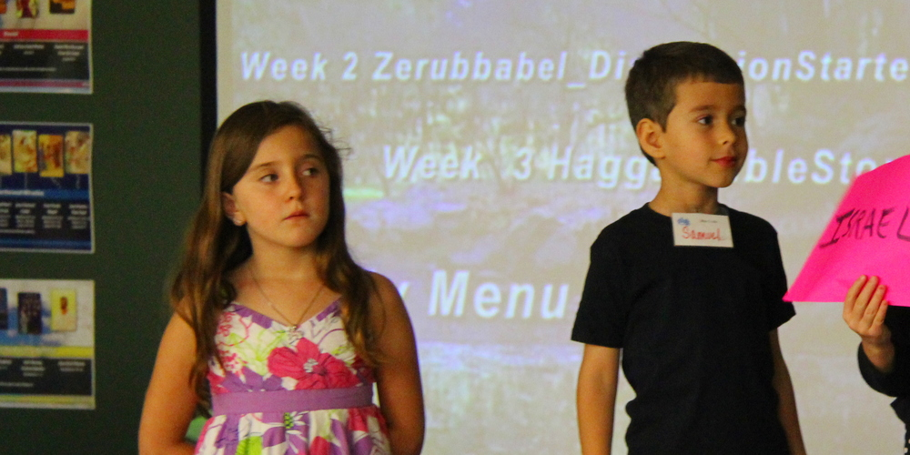 Our program keeps kids involved and engaged. No boring Sunday School lectures!