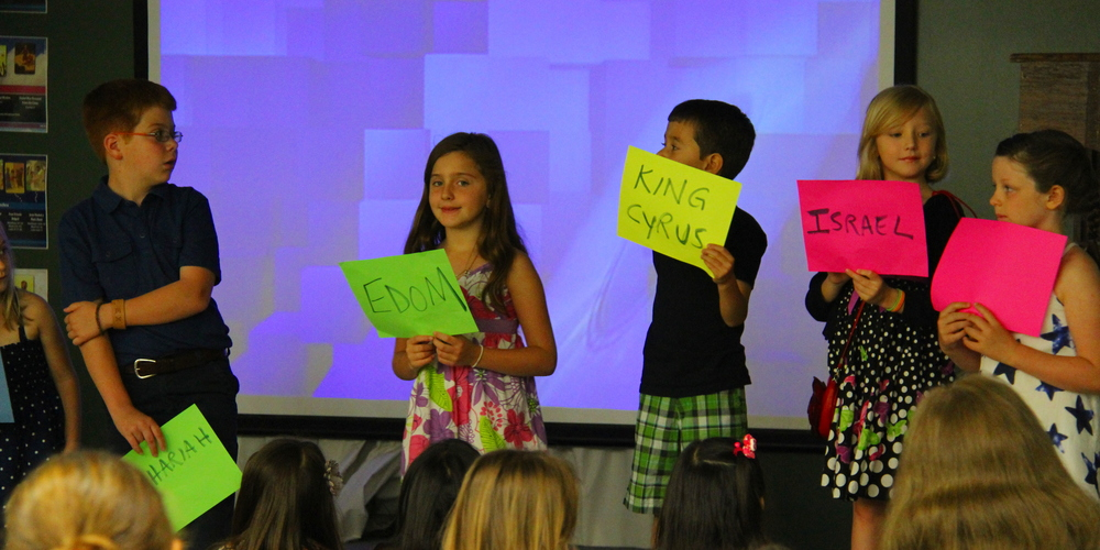 The Gospel Project Sunday School curriculum uses multi-media and hands-on learning to help children learn the story of our faith.