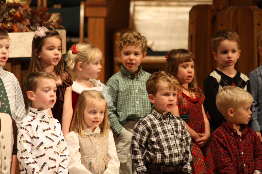 Cherub Choir at the Service of Lessons and Carols