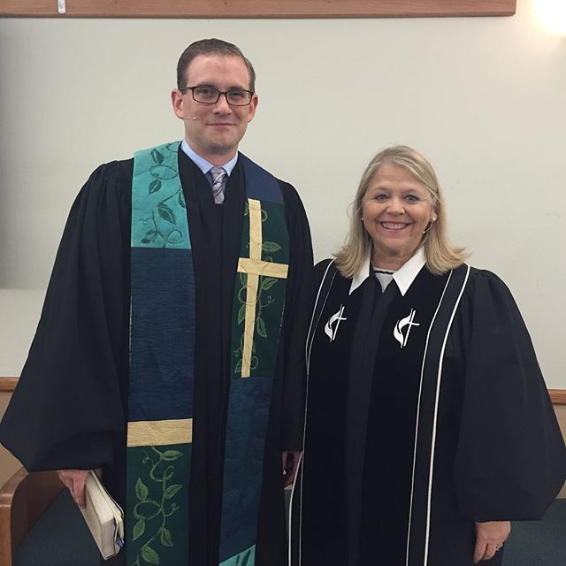 Join us in welcoming our new lead pastor Ben Trammell in a very special all church worship Sunday today!