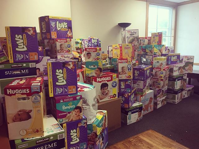 We are only 13,732 diapers away from our goal of 50,000 diapers for The Texas Diaper Bank! Remember to bring your donation to church this Sunday. #differencemaker