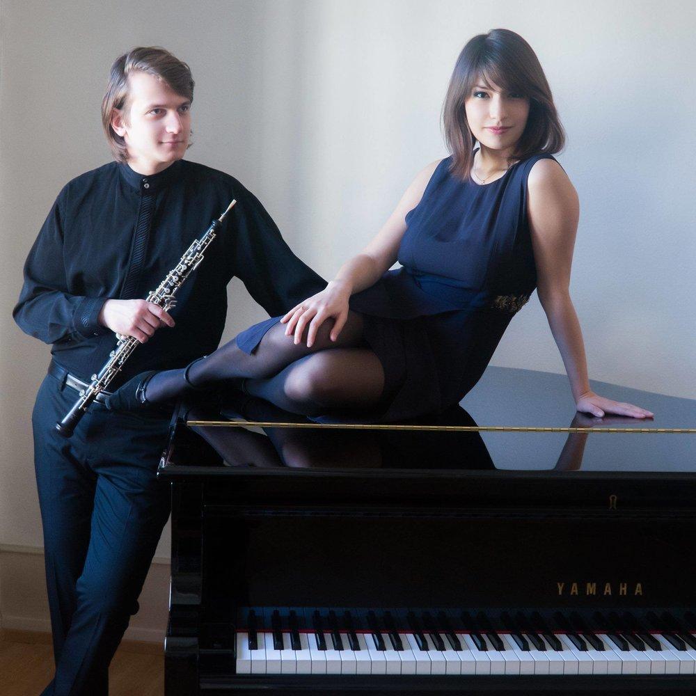 Isabelle CASTRO-BALBI (piano) & Ivan KOBYLSKIY (hautbois)